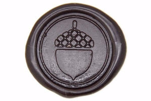 Acorn Wax Seal Stamp - Wax Seal Stamp - Backtozero
