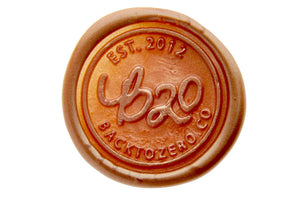 Copper Gold Octagon Sealing Wax Beads - Sealing Wax - Backtozero