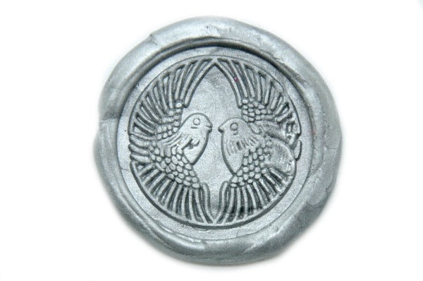 Lovebirds Wax Seal Stamp, Backtozero  - 1