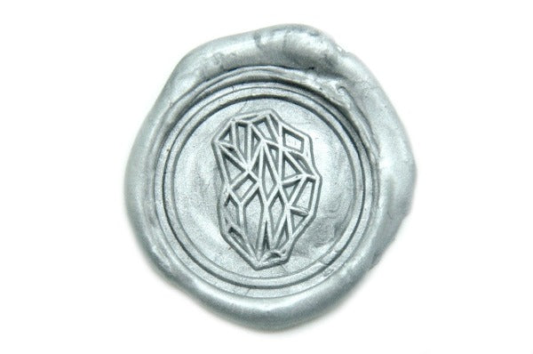 Geometric Wax Seal Stamp, Backtozero  - 1