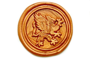 Griffin Wax Seal Stamp, Backtozero  - 2