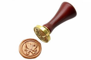 Griffin Wax Seal Stamp, Backtozero  - 1