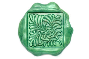 Palm Leaf Wax Seal Stamp - Wax Seal Stamp - Backtozero