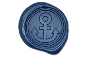Anchor Wax Seal Stamp - Wax Seal Stamp - Backtozero