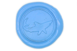 Shark Wax Seal Stamp - Wax Seal Stamp - Backtozero