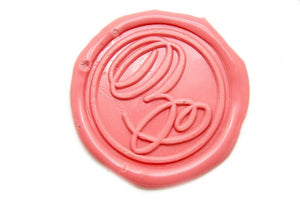 Suzanne Cunningham Calligraphy Z Wax Seal Stamp | Available in 4 Sizes - Wax Seal Stamp - Backtozero