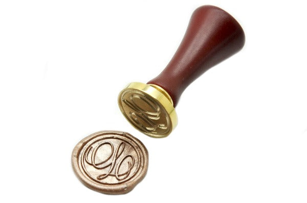 Suzanne Cunningham Calligraphy Initial Wax Seal Stamp | Available in 4 Sizes, Backtozero  - 5