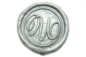 Suzanne Cunningham Calligraphy U Wax Seal Stamp | Available in 4 Sizes - Wax Seal Stamp - Backtozero