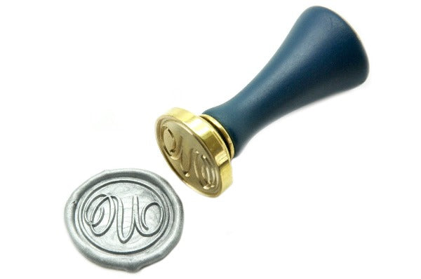 Suzanne Cunningham Calligraphy Initial Wax Seal Stamp | Available in 4 Sizes, Backtozero  - 4