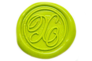 Suzanne Cunningham Calligraphy X Wax Seal Stamp | Available in 4 Sizes - Wax Seal Stamp - Backtozero
