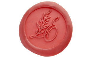 Botanical Monogram Wax Seal Stamp - Backtozero