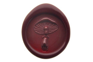 3D Kinoko Mushroom Wax Seal Stamp Designed by Hana.T - Wax Seal Stamp - Backtozero