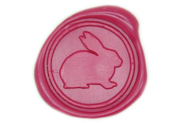 Rabbit Wax Seal Stamp, Backtozero  - 1