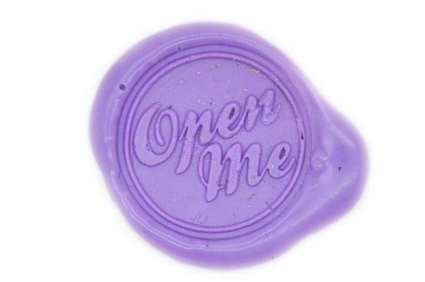 Open Me Wax Seal Stamp, Backtozero  - 1