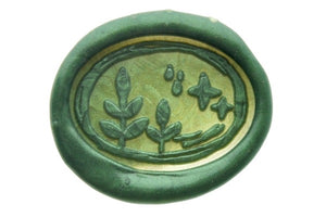 Night in forest Wax Seal Stamp Designed by Petra