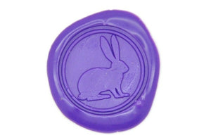 Rabbit Wax Seal Stamp - Wax Seal Stamp - Backtozero