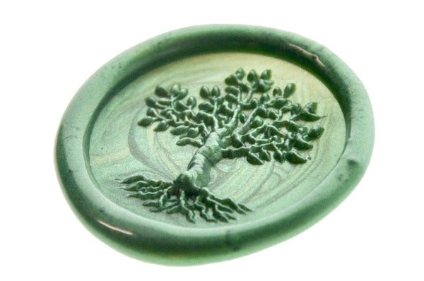 3D Tree of Life Wax Seal Stamp - Wax Seal Stamp - Backtozero