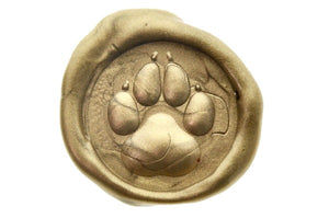 3D Paw Wax Seal Stamp - Wax Seal Stamp - Backtozero