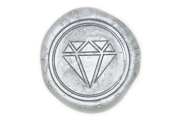 Diamond Wax Seal Stamp - Wax Seal Stamp - Backtozero