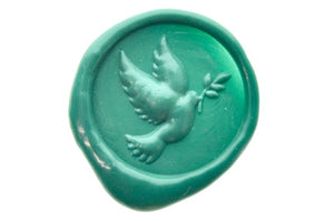3D Dove Wax Seal Stamp - Wax Seal Stamp - Backtozero