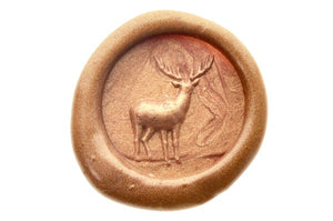 3D Deer Wax Seal Stamp - Wax Seal Stamp - Backtozero
