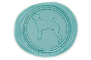 Greyhound Wax Seal Stamp - Wax Seal Stamp - Backtozero