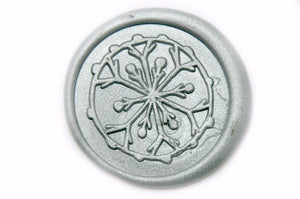 Snowflake Wax Seal Stamp, Backtozero  - 1