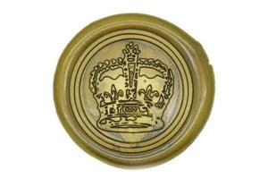 Royal Crown Wax Seal Stamp - Wax Seal Stamp - Backtozero