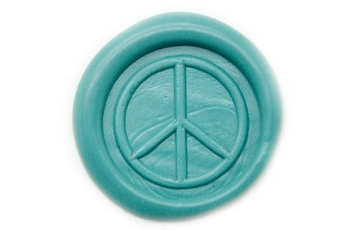 Peace Wax Seal Stamp | Available in 4 Sizes, Backtozero  - 1