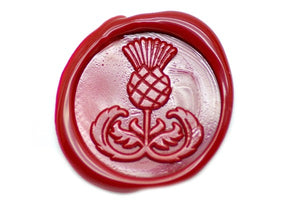 Thistle Wax Seal Stamp - Wax Seal Stamp - Backtozero