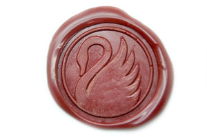 Swan Wax Seal Stamp, Backtozero  - 1
