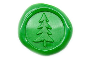 Pine Tree Wax Seal Stamp | Available in 4 Sizes, Backtozero  - 1