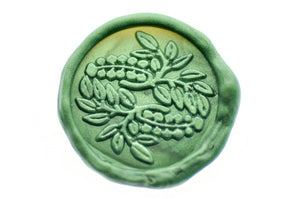 Japanese Kamon Fuji Botanical Wax Seal Stamp - Wax Seal Stamp - Backtozero