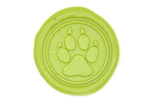 Paw Wax Seal Stamp - Wax Seal Stamp - Backtozero