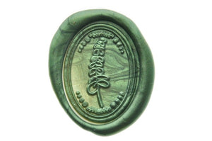 Eucalyptus Wax Seal Stamp Designed by Hana.T