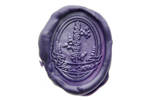 Lavender For You Wax Seal Stamp Designed by Hana.T