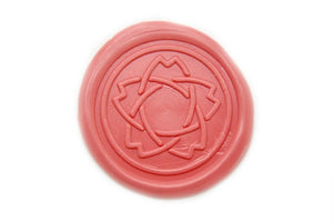 Sakura Star Wax Seal Stamp, Backtozero  - 1