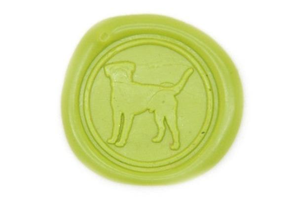 Labrador Retriever Wax Seal Stamp - Wax Seal Stamp - Backtozero
