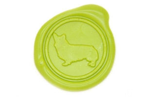 Corgi Wax Seal Stamp - Wax Seal Stamp - Backtozero