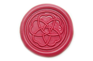 Plum Flower Wax Seal Stamp, Backtozero  - 1