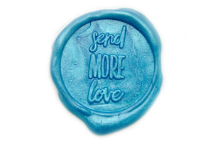 Send More Love Wax Seal Stamp Designed by Yen Chin, Backtozero  - 1