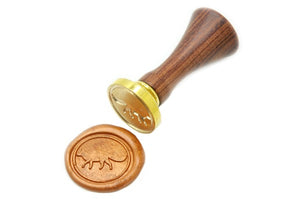 Fox Wax Seal Stamp | Available in 4 Sizes - Wax Seal Stamp - Backtozero