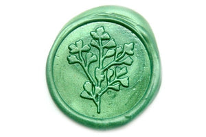 Botanical Wax Seal Stamp | Available in 4 Sizes - Wax Seal Stamp - Backtozero