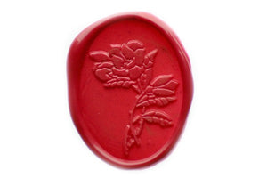 Bouquet Wax Seal Stamp - Wax Seal Stamp - Backtozero