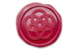 Mizuhiki Japanese Knot Wax Seal Stamp - Wax Seal Stamp - Backtozero