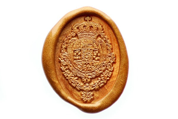 Coat of Arms Wax Seal Stamp - Wax Seal Stamp - Backtozero