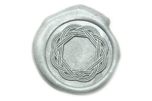 Mizuhiki Japanese Knot Wax Seal Stamp, Backtozero  - 1