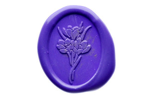 Tulip Wax Seal Stamp - Wax Seal Stamp - Backtozero