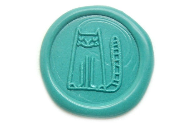 Cute Cat Wax Seal Stamp