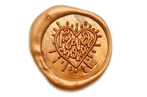 Forever Yours Wax Seal Stamp - Wax Seal Stamp - Backtozero